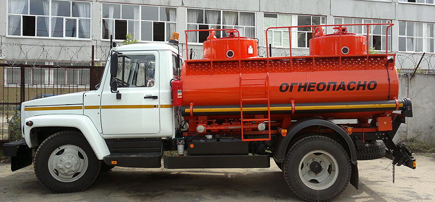 топливозаправщик на базе ГАЗ-3309